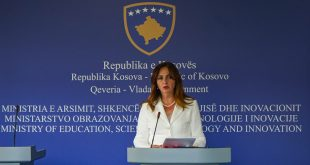 Ministrja Nagavci: Viti shkollor përfundon më 2 korrik, kurse testi i maturës mbahet me 26 qershor
