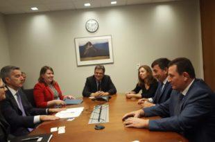 Ministri Arsim Bajrami është pritur në Departamentin Amerikan të Shtetit