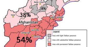 Talebanët fitojnë terren në Afganistan, pavarësisht ndihmesës së madhe amerikane për qeverinë e Kabulit