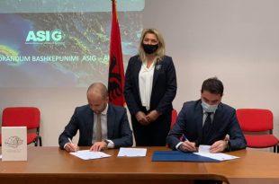 Nënshkruhen dy marrëveshje në mes të AKK-së dhe Autoritetit Shtetëror për Informacione Gjeohapësinore të Shqipërisë