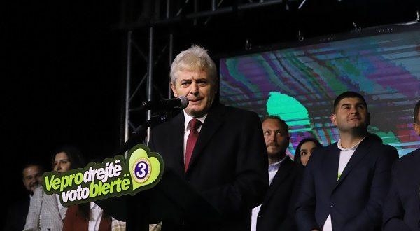 Ali Ahmeti nga Struga: Më 17 Tetor votoni për Merkon dhe Arbëreshën, për ardhmërinë tuaj