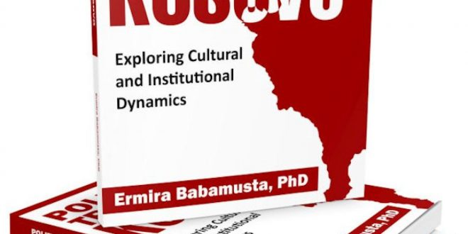 """Doli nga shtypi libri, """"Besimi Politik në Kosovë"""" i autores, Dr. Ermira Babamusta"""