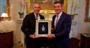 Kryekuvendari, Kadri Veseli takoi ish-kryeministrin e Britanisë së Madhe, Toni Blair