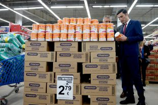 Ministri Shala me Inspektoratin kontrollojnë çmimet në markete, me qëllim të mbrojtjes së konsumatorit