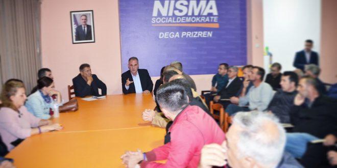 Fatmir Limaj: Jemi mobilizuar si kurrë më parë për ta prezantuar projektin tonë Bashkë për Shtetin