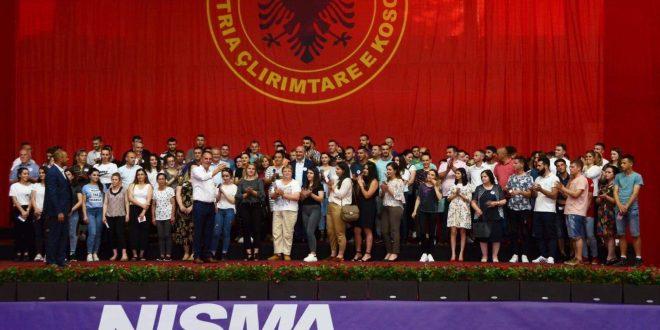 Në pesëvjetorin e themelimit të Nismës Socialdemokrate në Ferizaj i bashkohen 150 anëtarë të rinj