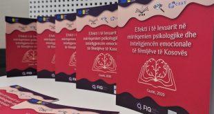 """ETEA: Publikohet raporti: """"Efekti i të lexuarit në mirëqenien psikologjike dhe inteligjencën emocionale të fëmijëve të Kosovës"""""""