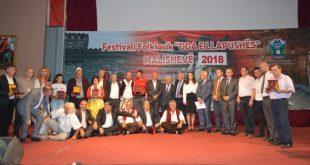 """Në Malishevë, ka përfunduar edicioni i pestë i festivalit folklorik """"Oda e Llapushës"""""""