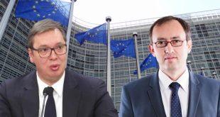 Takimi i radhës në Bruksel në mes të kryeministrit Hoti dhe kryetarit serb Vuçiq do të mbahet më 7 shtator