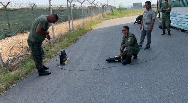 Komanda Ushtarake Amerikane në Evropë ka dhuruar sisteme të zbulimit për FSK-në në vlerë, 190 mijë dollarë