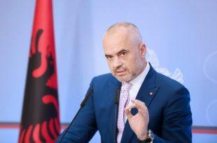Edi Rama: Më 30 qershor nuk do vendosen vetëm kryetarët e bashkive por fati i Shqipërisë për 30 vitet e ardhshme