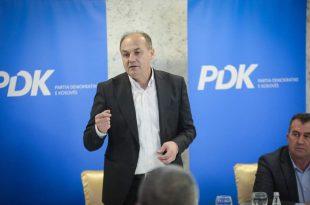 Enver Hoxhaj: PDK-ja do t'i përmbush aspiratat dhe synimet e shtetit të Kosovës drejt integrimit evropian