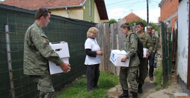 FSK-ja ka ndihmuar familjet në nevojë në Mitrovicë