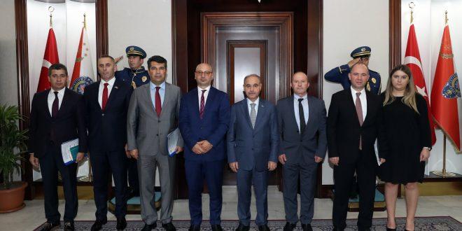 Zyrtarët: Selami Shkodra dhe Fadil Kodra, kanë qëndruar në një vizitë zyrtare në Republikën e Turqisë,