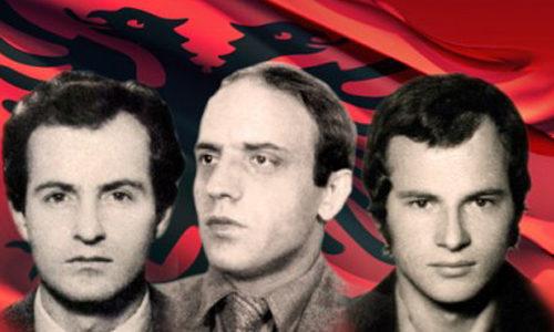 Jusuf Gërvalla, Kadri Zeka dhe Bardhosh Gërvalla