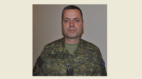 Zëvendëskomandanti i Komandës së Forcave Tokësore, Gëzim Hazrolli gradohet në gjeneralmajor