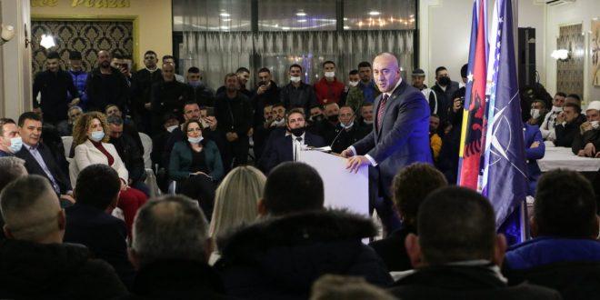 Ramush Haradinaj: Programi i AAK-së po iu ofron shpresë dhe siguri qytetarëve për tejkalimin e krizës ekonomik