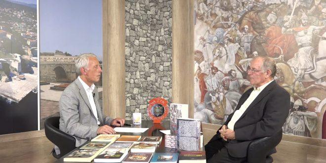 Në një bisedë në studion e TV-Diellit me redaktorin, Isuf Ismaili, profesor, Ahmet Qeriqi ka folur për krijimtarinë e tij letrare e publicistike