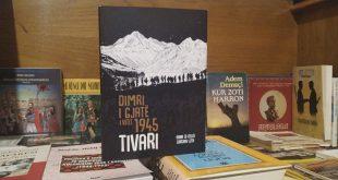 """Studiuesja, Anna Di Lellio, së bashku me dizajnerin, Dardan Luta, kanë nxjerrë në dritë librin, """"Dimri i gjatë i vitit 1945-Tivari"""""""