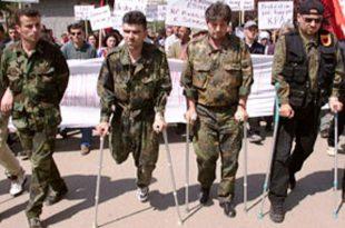 Aprovohet kërkesa e SHIL-UÇK-së, qeveria ndan 579 mijë e 345 euro për protezat e invalidëve të luftës