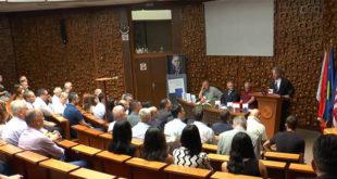 """Sot në Bibliotekën Kombëtare është përuruar libri: """"Zhurmuesit e demokracisë"""", i autorit, Jakup Krasniqi"""