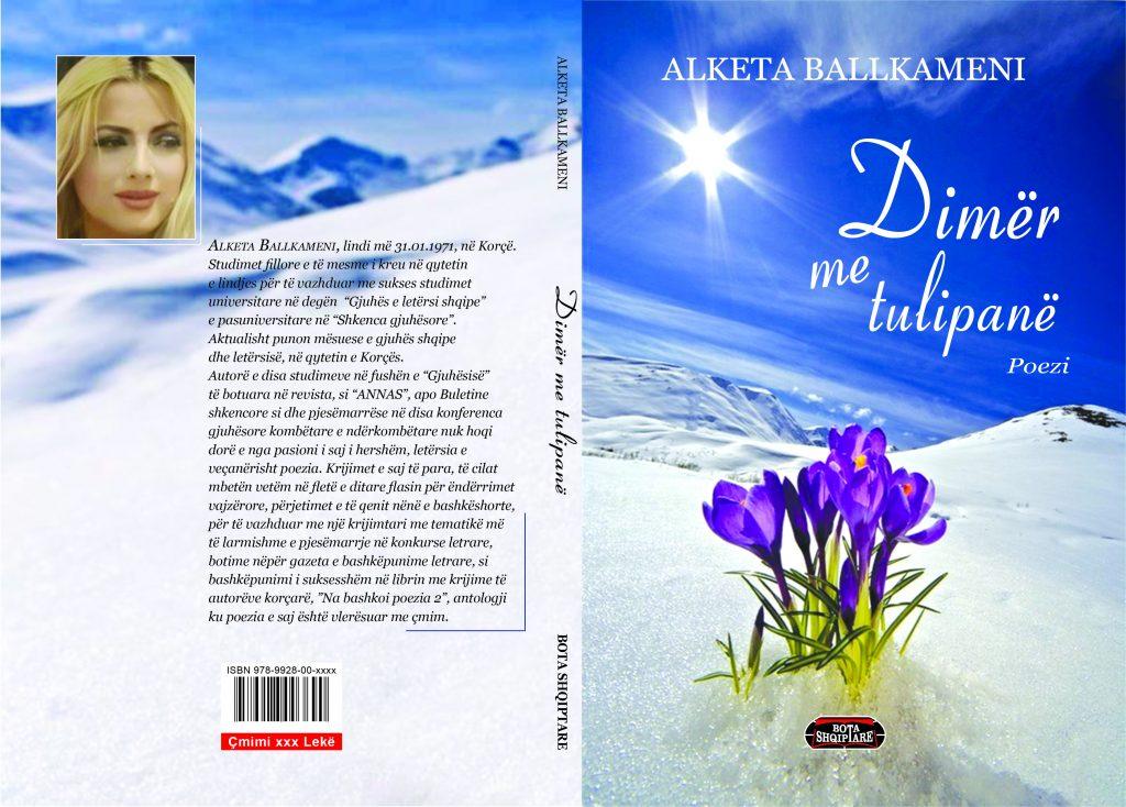 """Albert Z. ZHOLI: Libri poetik """"Dimër me tulipanë"""" dhe qasja provokuese e Alketa Ballkamenit"""