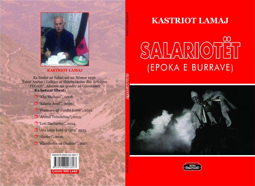"""Albert Z. Zholi: Libri, """"Salariotët - Epoka e burrave"""", i autorit Kastriot Lamaj, është vepër që i lartëson heronjtë"""