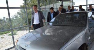 Në Kleçkë u ekspozua vetura e Komandant Kumanovës