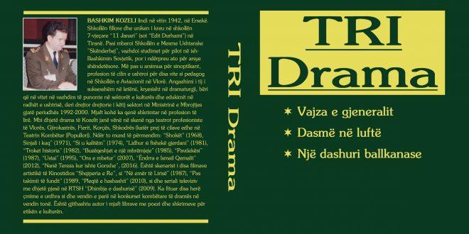 """Albert Z. ZHOLI: Tri drama"""" një libër tronditës dhe plot vlera i Bashkim Kozelit"""