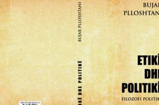 """Ermira Babamusta: Doli nga shtypi libri filozofi politike """"Etikë dhe Politikë"""" i autorit Bujar Plloshtani"""