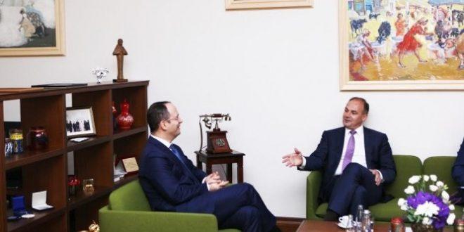 Ditmir Bushati dhe Enver Hoxhaj