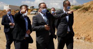 Ministri Krasniqi viziton Zonën Ekonomike në Qylagë të Lipjanit