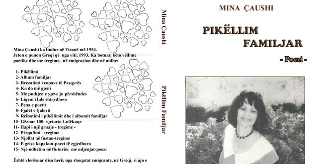 "Albert Z. Zholi: ""Pikëllim familjar"" një libër rinor i Mina Çaushit"