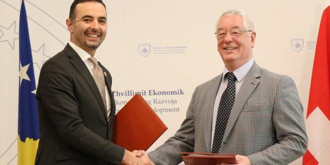 Qeveria e Zvicrës e ndihmon Republikën e Kosovës me tetë milionë euro donacion për sektorin e ujërave