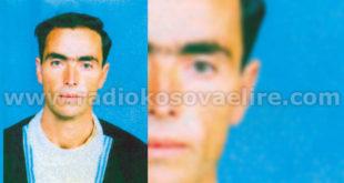Mustafë Tahir Shabanaj (10.5.1960 - 8.5.1999)
