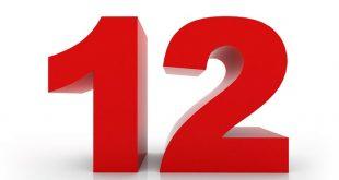 A.Q. Numri 12 përfaqëson përsosjen, si dhe autoritetin e krijuesit të gjithësisë