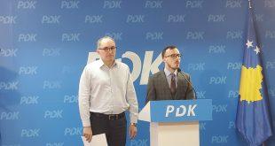 PDK e kritikon kryeministrin e vendit, Albin Kurti i cili sipas tyre ende nuk ka ofruar një program qeverisës