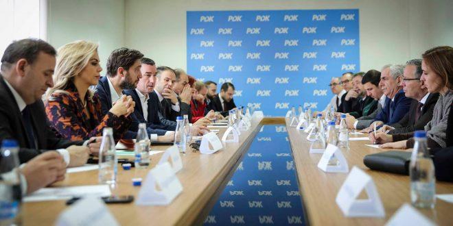 PDK-ja ka dënuar veprimet e dëmshme të Qeverisë Kurti në raport me Kushtetutën dhe ligjet e Kosovës