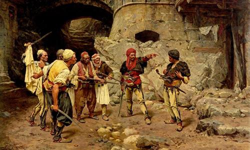 Shqiptarët në pikturat dhe tablotë e Paja Jovanoviqit (1859 - 1957)