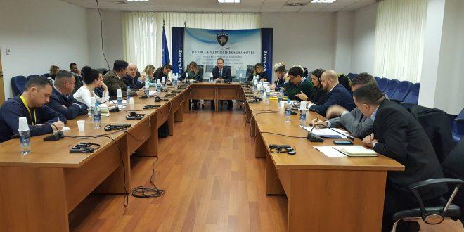 Në Minisrtinë e Punëve të Brendshme mbahet takimi i grupit për zbatimin e Strategjisë Shtetërore për Riintegrim