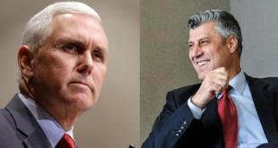 Kryetari i Kosovës, Hashim Thaçi, sot do të pritet në Shtëpinë e Bardhë nga zëvendës-presidenti amerikan, Mike Pence