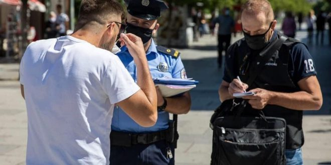Policia e Kosovës ka shqiptuar 18 mijë e 320 gjoba për kundërvajtje gjatë implementimi ligjit anti-covid