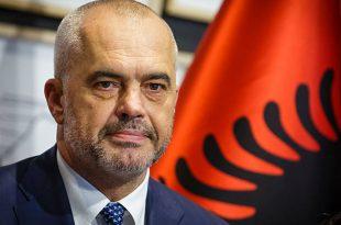 Kryeministri i Shqipërisë, Edi Rama ka nisur ditën me urimin për ditëlindjen e shtetit të Kosovës