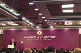 Partia Socialiste e Shqipërisë sot ka mbajtur Asamblenë