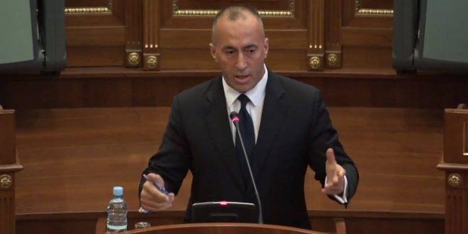 Ramush Haradinaj kërkon nga Qeveria Kurti formimin e një komisioni për shënimin e kufirit me Malin e Zi