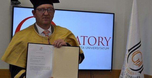 Rektori Nimani nënshkroi anëtarësimin në Magna Charta Universitatum
