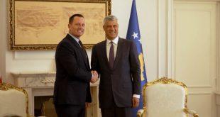 Kryetari, Hashim Thaçi, është shprehur i gëzuar lidhur me rivendosjen e linjës hekurudhore mes Kosovës e Serbisë