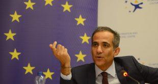 Riccardo Serri, ka folur para Komisionit për Integrime Evropiane rreth Raportit të Kosovës për vitin 2019