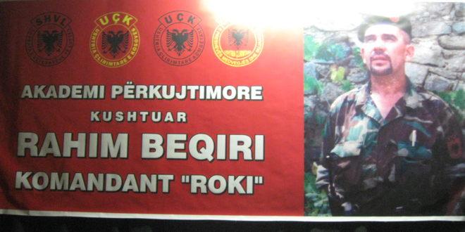 Akademi përkujtimore për heroin Rrahim Beqiri