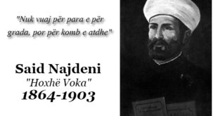 "Said Najdeni - ""Hoxhë Voka"" 1864-1903"